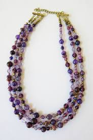 double strand beaded necklace images Diy jewelry tutorial how to make a multi strand beaded necklace jpg
