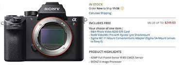 black friday sony rx100 the ultimate black friday deals roundup new a7rii a7sii a6000