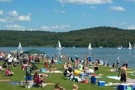 Pennsylvania beaches images Swimming and beach locations moraine state park pennsylvania jpg