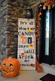 it u0027s all about the candy halloween count down craft