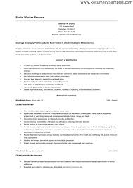 social worker resume template social work resumes samples sample