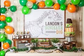 dinosaur birthday dinosaur birthday party and prehistoric excavation