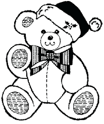 cute teddy bear colouring pages coloring for kids free printable
