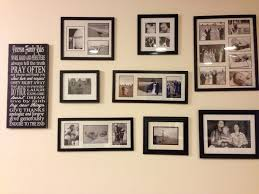 decorating ideas astonishing picture of picture collage wall