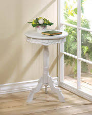 Small Round Pedestal Side Table End Tables Designs Small Round End Tables Design Ideas Wayfair
