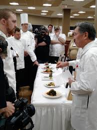 audio university chefs face off at regional culinary conference