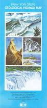 New York State Road Map by New York State Geological Highway Map Yngvar W Isachsen Timothy