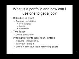 What Is A Resum How To Make A Resume What Is A Portfolio And How Can I Use One
