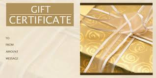 1 gift certificate templates gift certificate factory