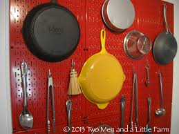 Pegboard Ideas Kitchen How To Hang Kitchen Pegboard For Backsplash Benefits Of Using