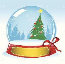 christma tree snow globe stock vector 479502173 istock
