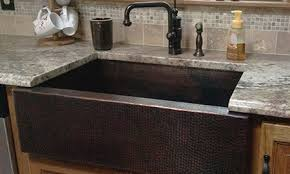 Copper Sinks Blog Designing Your Kitchen  Copper Apron Kitchen - Copper farmhouse kitchen sink