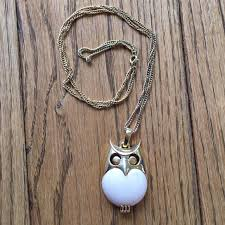 owl vintage necklace images Trifari jewelry vintage owl necklace poshmark jpg