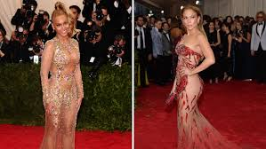 naked photos of jennifer lopez met gala 2015 who was most naked on the carpet pret a reporter