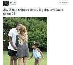 Jay Z Pool Meme - the internet roasts jay z s struggly legs to oblivion bossip