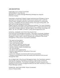 sample cover letter for project manager job gallery cover letter