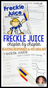 best 25 freckle juice ideas on pinterest reading comprehension