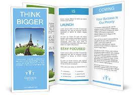 wonderful european vacation brochure template u0026 design id
