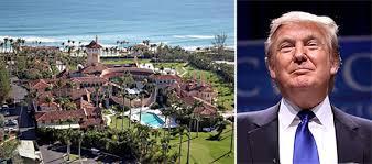 is trump at mar a lago trump palm beach security costs mar a lago security