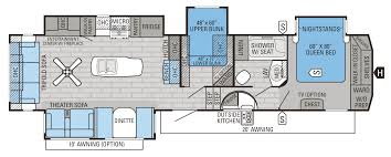 denali 5th wheel floor plans eagle fifth wheel floorplans prices jayco inc heartland floor plan
