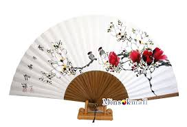 asian fan korean traditional hanji fan folding fan asian fan handheld fan