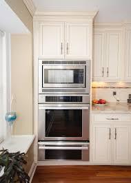 Galley Kitchen Peninsula Fair Kitchen With Double Oven For Kitchen Awesome Galley Kitchen