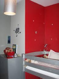 chambre gris et rouge chambre gris metal design de maison