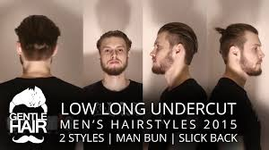 how long should hair be for undercut low undercut long men u0027s hairstyles scissor haircut 2 styles
