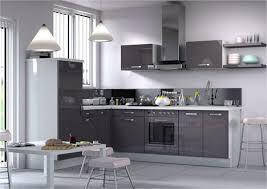 cuisine moin cher meuble de cuisine sospel ca26604 l200cm gris acheter moins cher