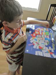 United States Learning Map by Montessori Material Puzzle Maps