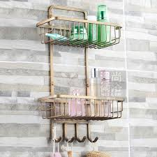 Bathroom Shower Organizers Bathroom Shower Shelves Creative Gray Bathroom Shower Shelves