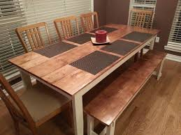 Rustic Tables Ana White Rustic Table And Bench Diy Projects