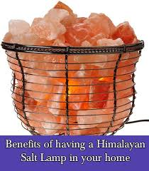 himalayan light salt crystal l benefits of having a himalayan salt l in your home home and