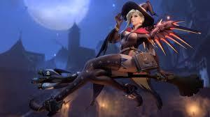 overwatch halloween background mercy overwatch halloween wallpaper