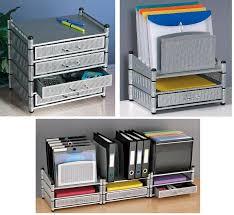 Stackable Desk Organizer Axcess Lg302 Steelworx Stacking Supply Drawer Desktop Organizer