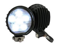 led work lights for trucks truck lite led auxiliary work light black finish 81360 truck lite