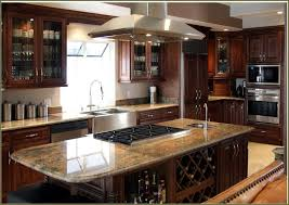 kitchen design ideas with island interior design stunning prefab cabinets with range hood and