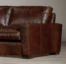 Maxwell Sofa Restoration Hardware Maxwell Leather Sofa