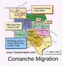 lipan map the apaches