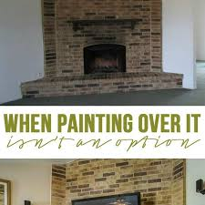 Clean Fireplace Stone by 100 Best Way To Clean Brick Fireplace Paint Fireplace Brick
