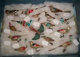 german bird ornaments tub 6 memories