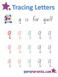 letter q worksheets guruparents