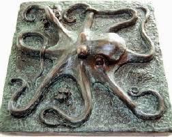 octopus art etsy