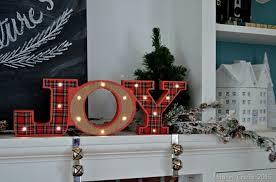 Walgreens Christmas Decorations Cozy Christmas Mantel