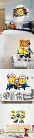 best 25 minions childrens bedrooms ideas on pinterest minions cute cartoon minions wall stickers despicable me all decal home decor art removable waterproof for bedroom kits children room