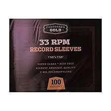 photo album sleeves 100 cbg 33 rpm 12 lp record album sleeves archival