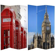 Oriental Room Dividers by 6 Ft Tall London Room Divider Big Ben Phone Booths