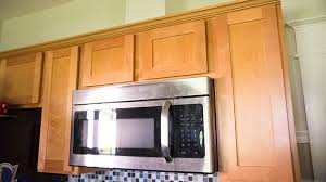 Hide Microwave In Cabinet How To Vent An Over The Range Microwave To The Outside Today U0027s