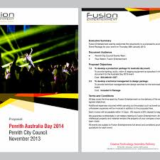 create a proposal template design for creative event company