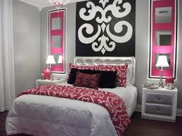 Download Bedroom Ideas For Teenage Girls Pink Gencongresscom - Girls bedroom ideas pink and black